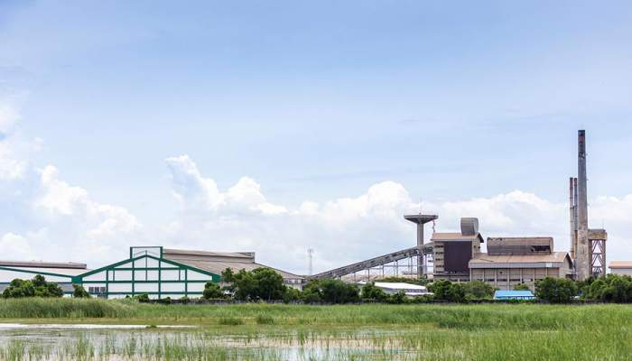 Crane Building Factory